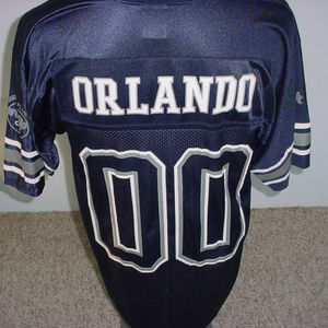 HRC Hard Rock Cafe Orlando football jersey M